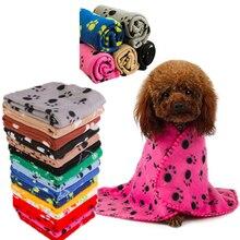 HEYPET-couverture en molleton de corail   Lit pour chien chat, tapis dhiver chaud pour chiot en peluche, pour petits moyens et grands chiens chats