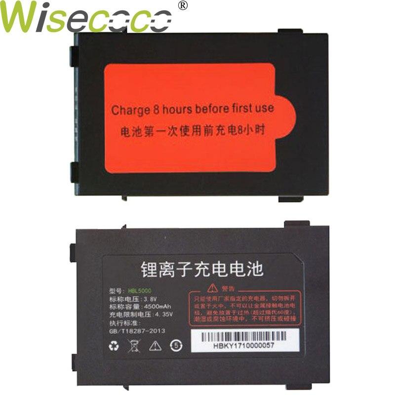 Wisecoco HBL5000 4500 mAh nueva batería potente para Urovo i6000S i6100S V5000 PDA batería reemplazo + número de seguimiento