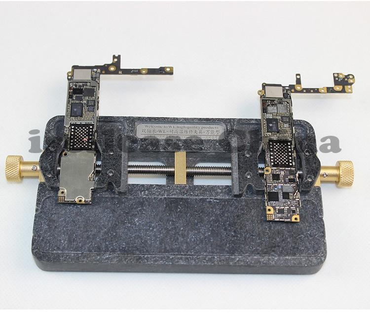 Wozniak wl Universal Fixture High temperature phone IC Chip motherboard Jig Board Holder Maintenance cpu Repair Mold for iphone