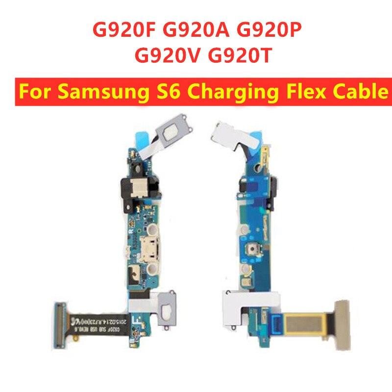 Micro cabo flexível do carregador de usb para samsung s6 g920 g920t g920a g920p g920v g920f doca conector usb porto de carregamento cabo flexível