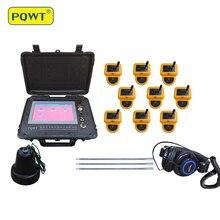 PQWT-CL900 détecteur de fuite deau de Pipeline souterrain de longue portée de 8 mètres avec 9 capteurs