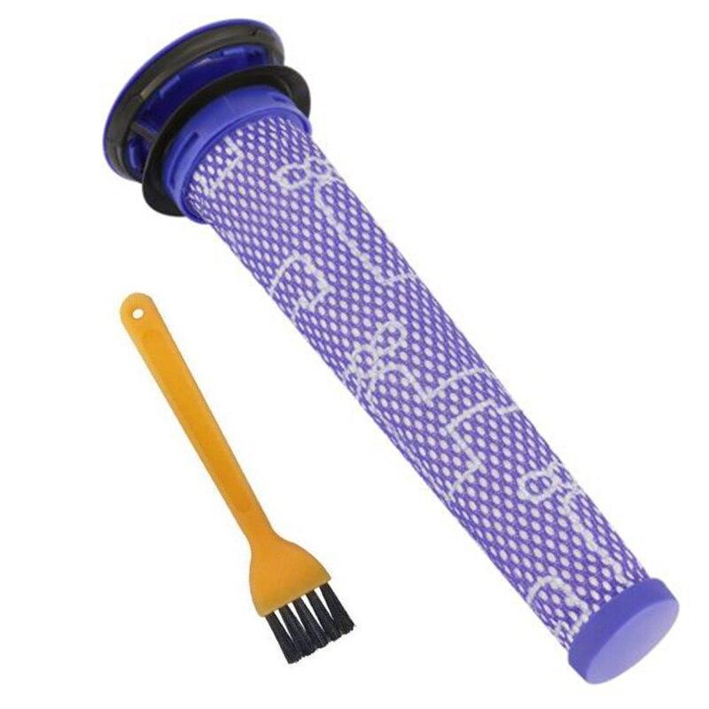 Cepillo de limpieza de filtro al vacío para Dyson V6 repuesto para Dy C9, lavable Pre bastón para el motor filtros Vac piezas de limpiador