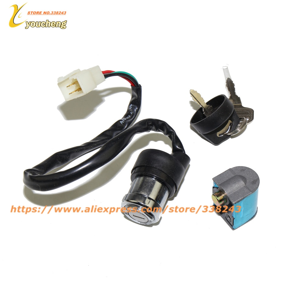 CF500 CF188 Ignition Key CFMOTO Switch Lock Key Set 500 500cc CF MOTO ATV UTV QUAD Repair Part 9010-010000 TS-CF500