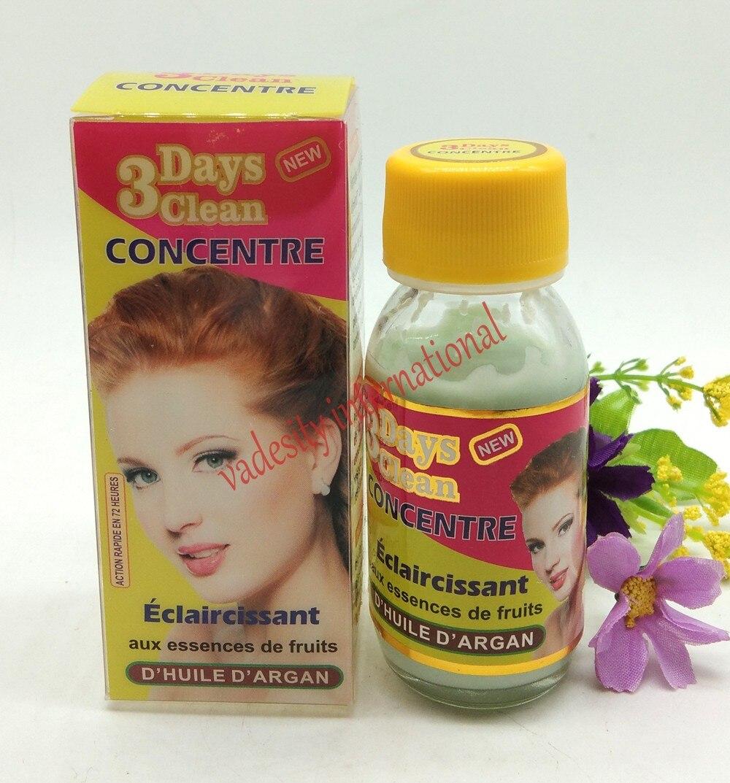 Concentrado limpio de 3 días con extractos de aceite de argán de Caracol 50ml