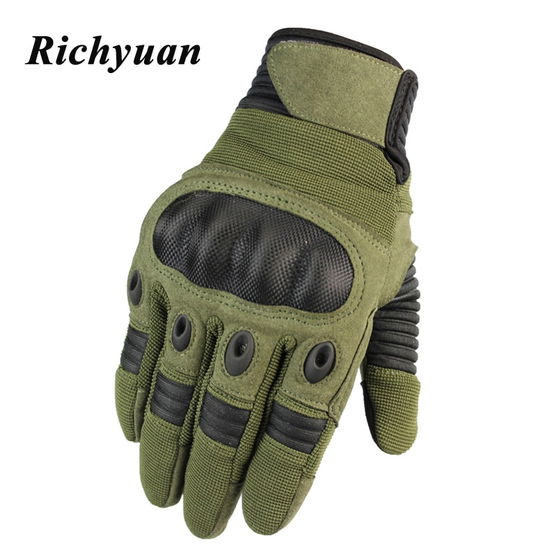 Touch Screen Motorcycle Hard Knuckle Full Finger Gloves for Riding Motocross Protective Gear Outdoor Sports Motorbike Racing Mtb