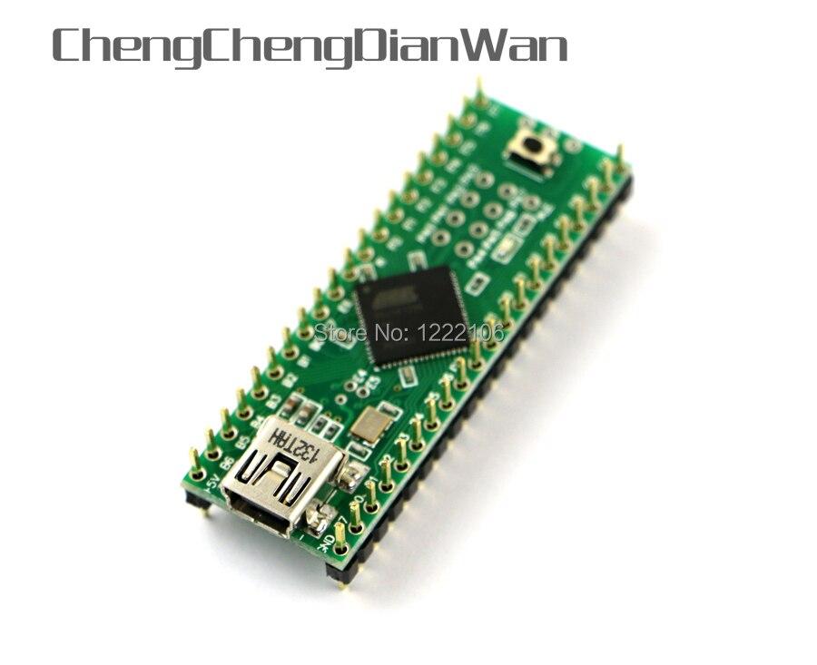 ChengChengDianWan/100% Original Genuine PJRC Teensy ++ 2.0 USB Teensy AVR desenvolver board para ps3 playstation 3