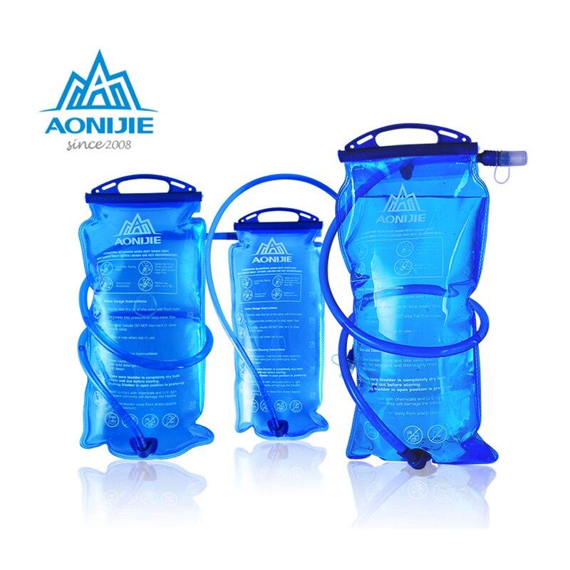 Aonijie reservatório de água sd12, armazenamento de líquidos líquidos 1l 1.5l 2l e 3l, mochila e colete de hidratação para corrida