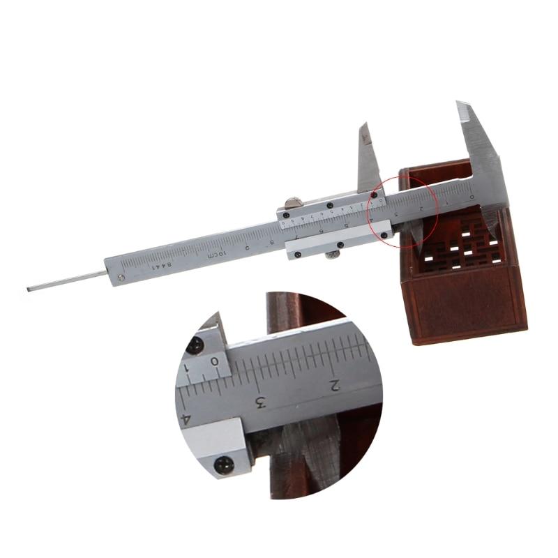 NEW Mini Vernier Caliper 0-100mm Pocket Stainless Steel Metric Machinist