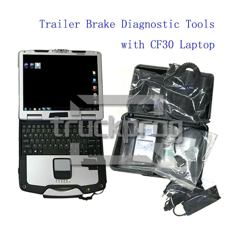 Outils de Diagnostic de camion de TruckProg pour le Diagnostic de système de remorque Scanner de Diagnostic dudif avec des câbles de Diagnostic dordinateur portable