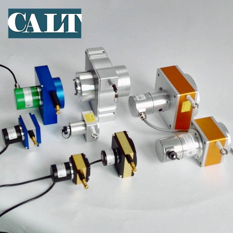 Sensor de medição do potenciômetro do deslocamento do fio da tração do baixo custo stoke 4000mm tipo potenciômetro da corda do sensor de deslocamento