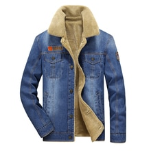 M-4XL hommes veste et manteaux marque vêtements denim veste mode hommes jeans veste épais chaud hiver outwear mâle cowboy