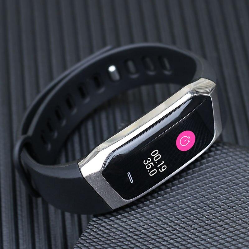 Reloj inteligente con Monitor de ritmo cardíaco, podómetro, caloría, deporte, reloj inteligente para hombre, reloj inteligente para mujer y hombre