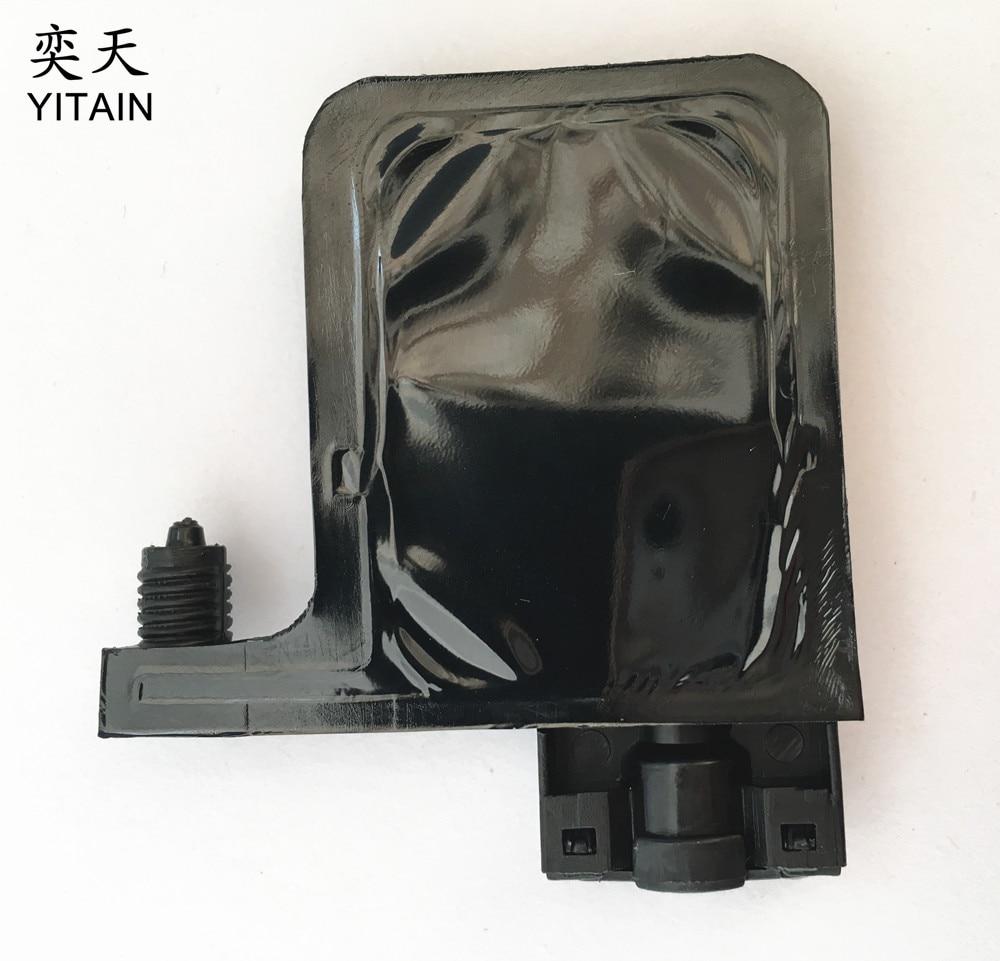 Amortiguador uv dx5 de 10 piezas de color negro para impresora galaxy
