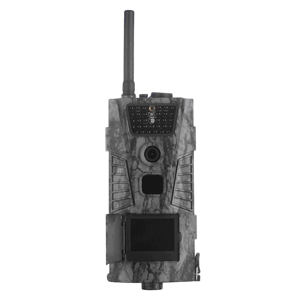WCDMA 3G Mobile Tree Leaf Outlook Trail Camera with 16MP HD Image Photo 1080P Image Video Recording with Wireless Remote Control