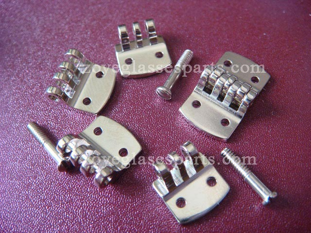 very strong hinges for wayfarer sunglasses, riveting hinge for acetate sunglasses 8mm width nickel c