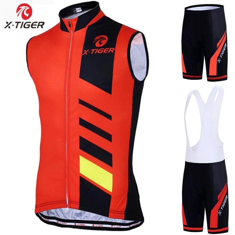 Chaleco De Ciclismo sin mangas x-tiger, Ropa De bicicleta MTB, Maillot, Ropa De Ciclismo para Hombre, Ropa De Ciclismo para Ciclismo