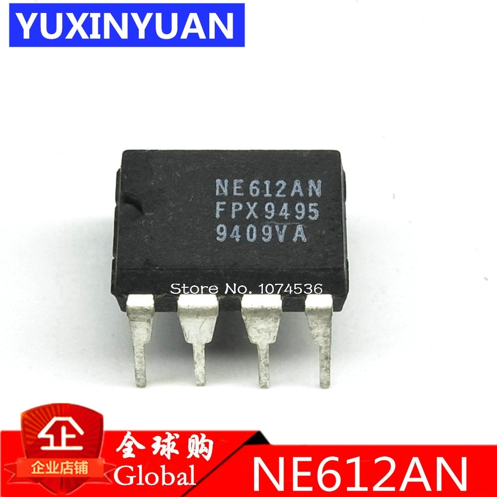 10PCS/LOT NE612AN NE612 SA612AN SA612 DIP8 Double-balanced mixer and oscillator