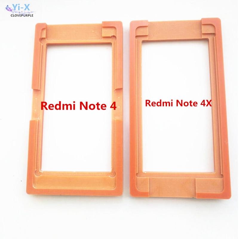 Pegamento LCD Pantalla de vidrio exterior molde porta moldes para Xiaomi Redmi Note 4 Note 4X Note4 Note4X