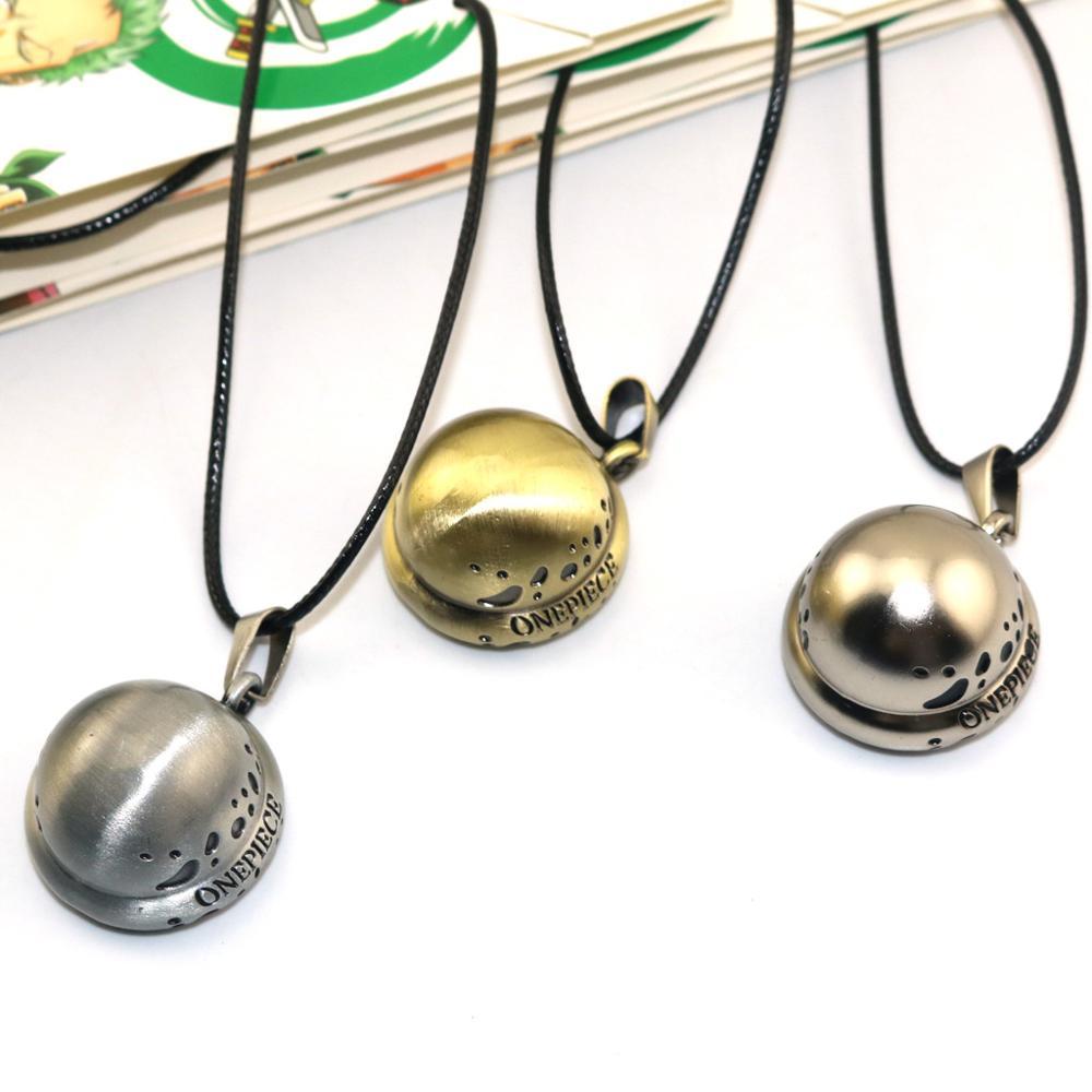 Collar de una sola pieza 3 Estilo Trafalgar Law Hat colgante amistad regalo joyas de anime Accesorios