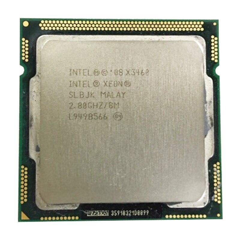 معالج INTEL Xeon X3460 CPU/LGA1156 مع مقبس/2.8 جيجاهرتز/8 متر/95 واط/معالج رباعي النواة مع الأجهزة اللوحية المشتتة ووحدة المعالجة المركزية