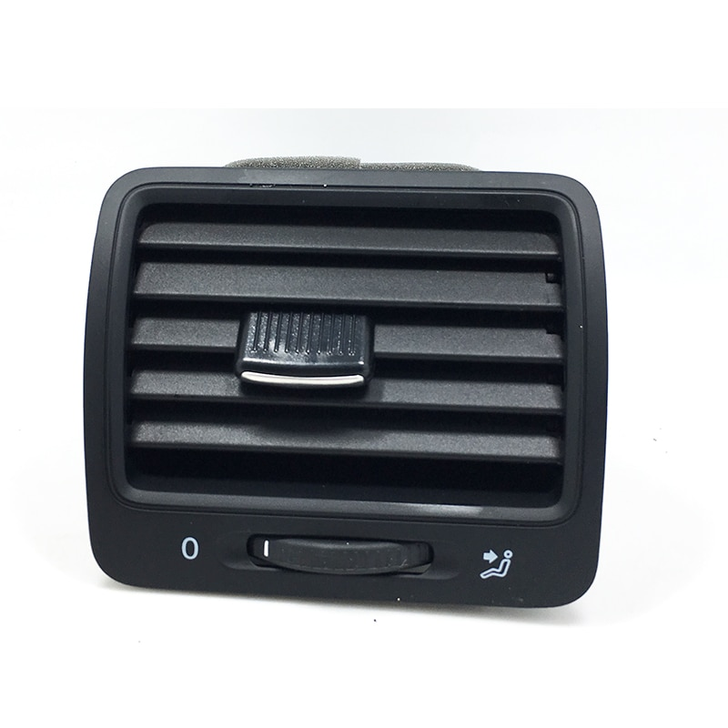 Panel frontal negro OEM, 1 Uds., salida de aire derecha para ventilación para Golf GTI 5 Jetta MK5 Rabbit 1KD 819 703 1K0 819 704 1K0819704