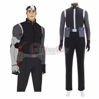 cospalydiy defender shiro cosplay costume adult top pants gloves cosplay suit l0516