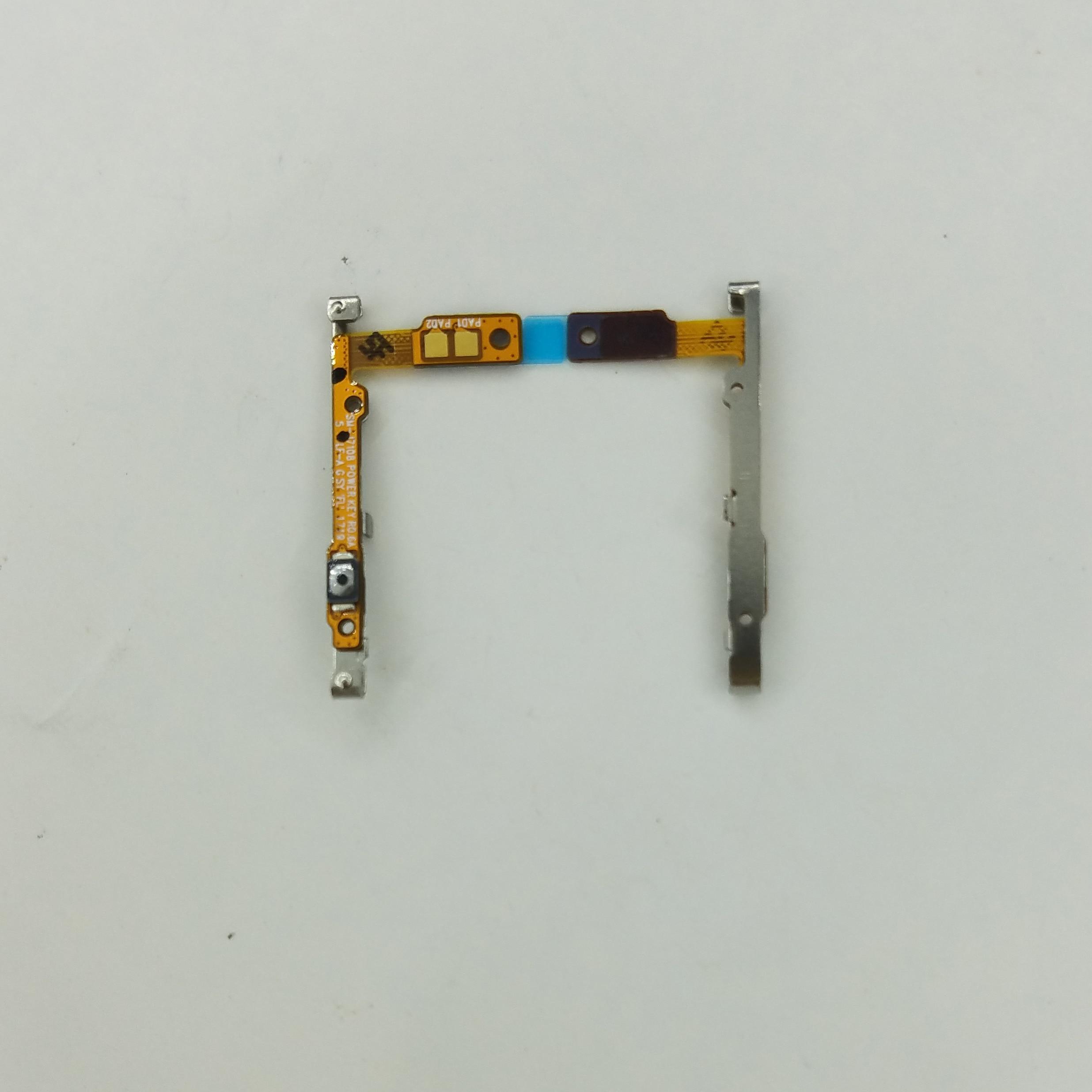 Para Samsung Galaxy J7 2016 j710 J710F J710FN J710H J710M J710G carcasa de teléfono Original nuevo botón de encendido On Off Key Flex Cable