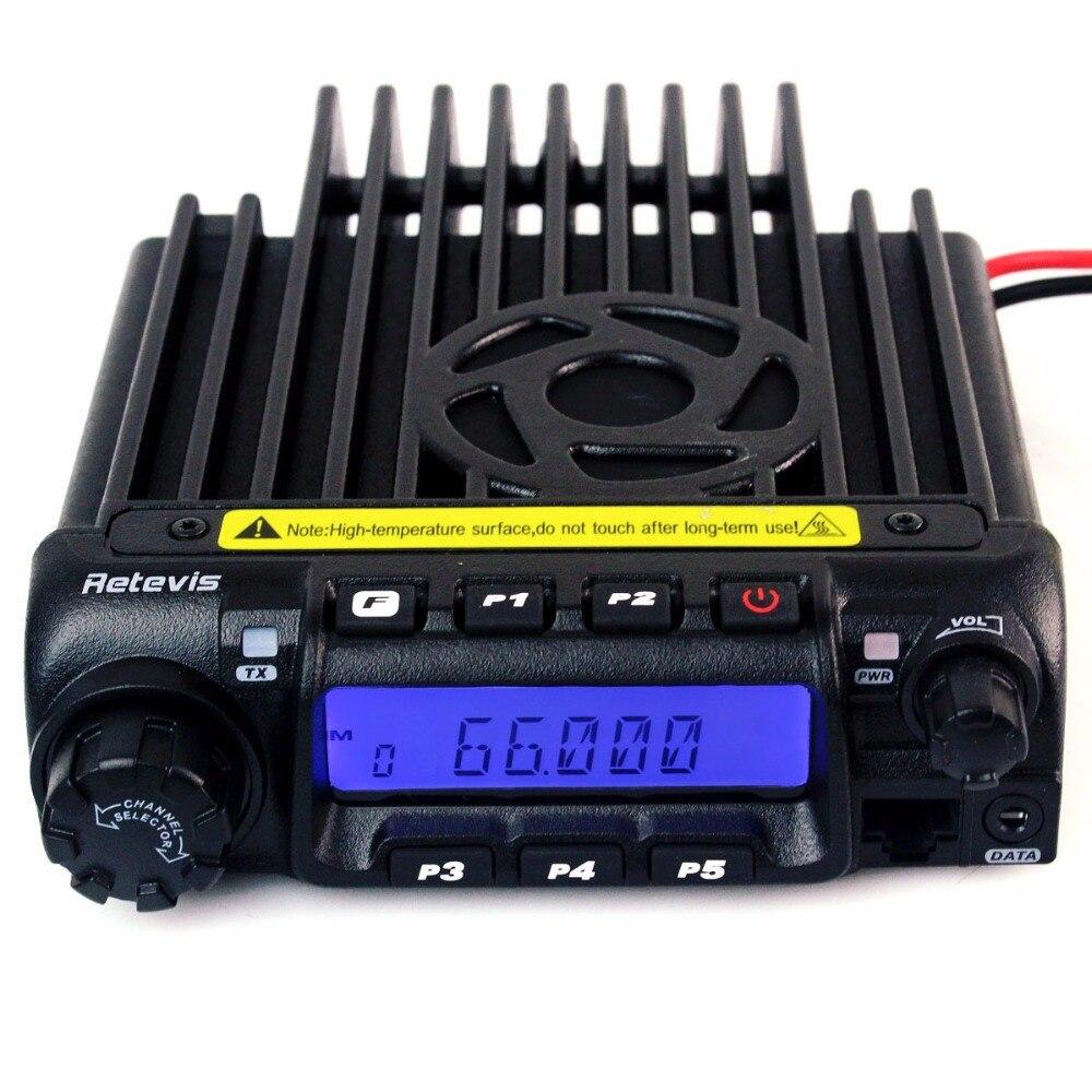 Автомобильная радиостанция Retevis RT9000D, 60 Вт, 50CTCSS/1024DCS VOX Scan с программируемым кабелем, Любительский радиоприемник A9100