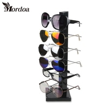 2017 Selling 6 Layers Shape Display Stand for Glasses Sunglass jewelry Display Holder 3D Glasses Fra