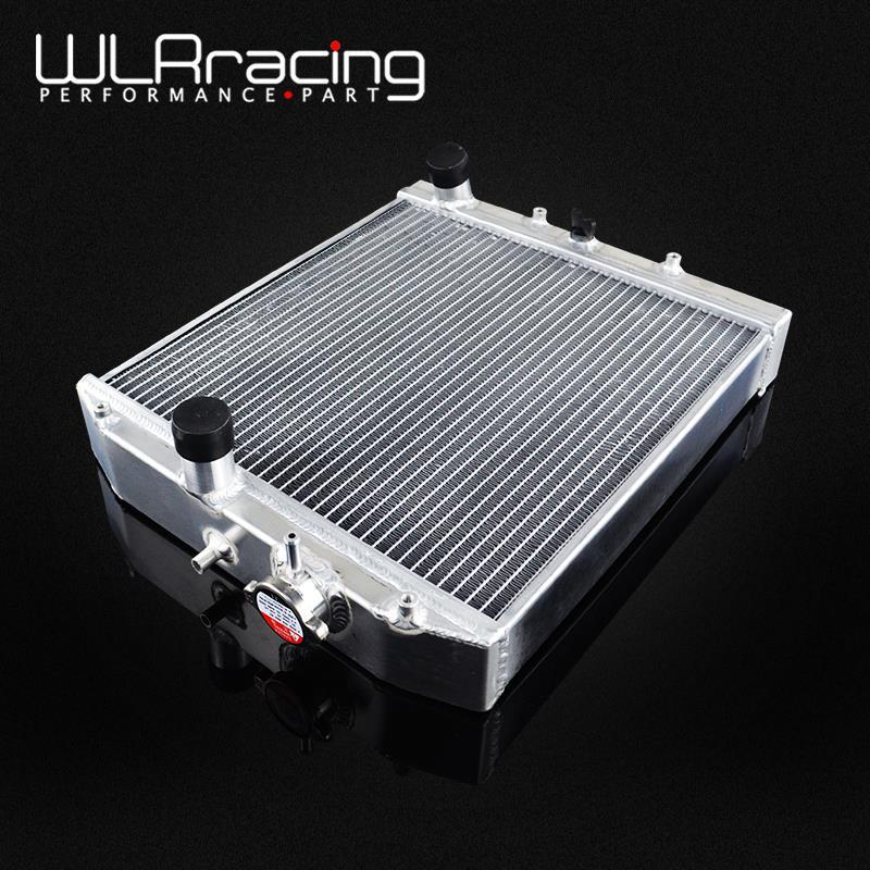 WLR RACING-52 мм 3 ряда Полный алюминиевый радиатор для HONDA CIVIC B18C/B16A 32 мм в/из WLR-SX104