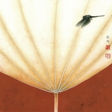 Affiches en toile de fleurs de style post-oral   Tableau géant, artistes modernes chinois, reproduction, chef-d œuvre, copie, image de Lotus