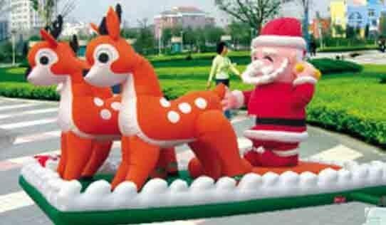 بابا نويل قابل للنفخ 8 م