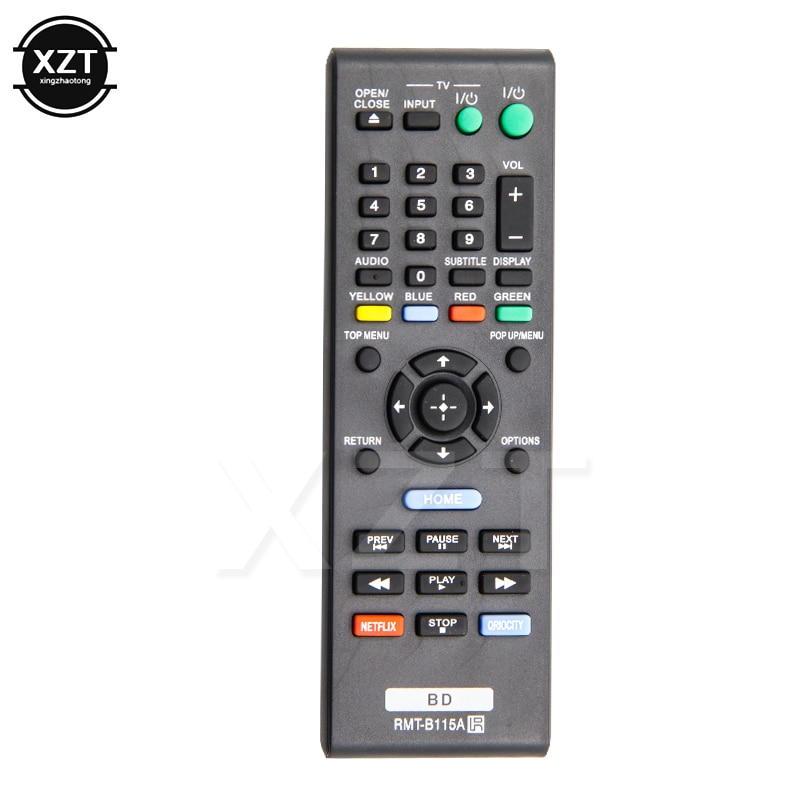 Controle remoto inteligente RMT-B115A para sony blu-ray dvd player BDP-S480 BDP-580 BDP-S2100 controle remoto de alta qualidade
