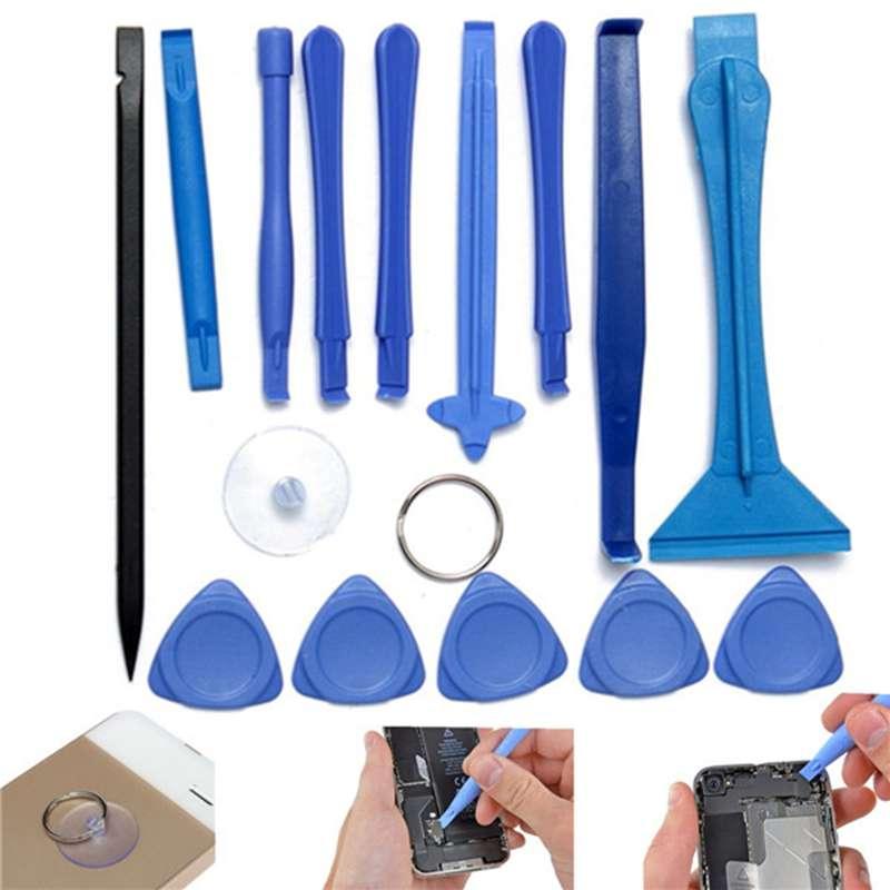 1 Набор 15 в 1 пластиковый Spudger Pry открытие ЖК-экран инструменты ремонтный набор инструментов разборка для iPhone 4 5S для iPad для Samsung S6