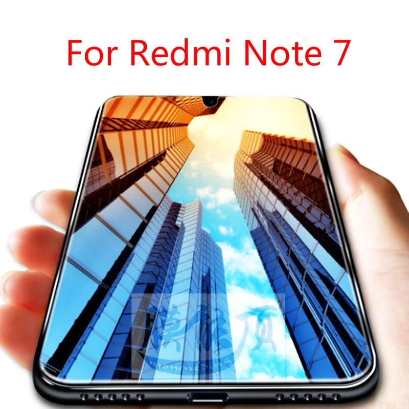 Protector de pantalla de vidrio templado HD para Xiaomi Note 7, película...