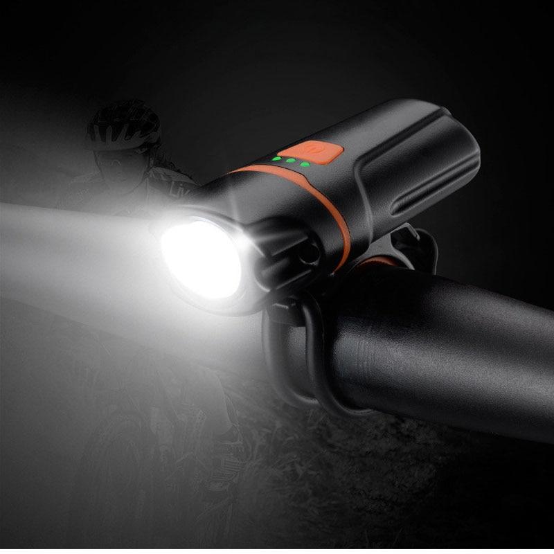 Запатентованный продукт! Яркий светодиодный 6 режимов USB Перезаряжаемый мини передний Велосипедный свет