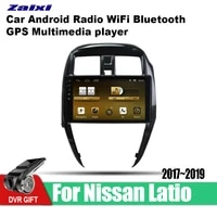 accessories android car multimedia player gps navigation system radio stereo video head unit 2din for nissan latio 20172019