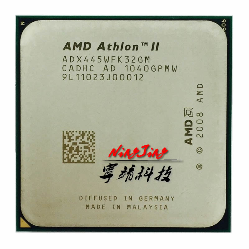 AMD Athlon II X3 445 3,1 GHz procesador CPU de Triple núcleo ADX445WFK32GM Socket AM3 contacto para vender X4 440