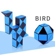 24 Blocks Children 3D Magic Cube Twist Logic Brain Teaser Game Toy Anti-stressed Kids Puzzle Educational Toys Birthday Gift