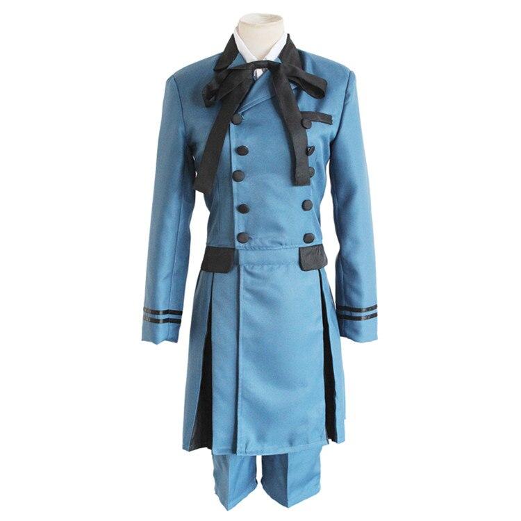 Black Butler Kuroshitsuji Ciel Phantomhive, conjunto de disfraz de Cosplay, conjunto de disfraz de aristócrata Basti Kuroshitsuji