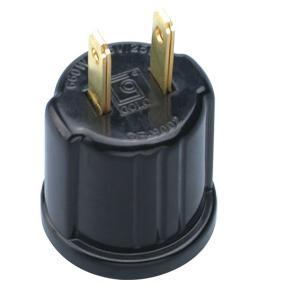 (SPL-045-L9) 1000pcs/lot 125V 660W NEMA1-15P NON-PLOARIZED PLUG TO E26 LAMPHOLDER