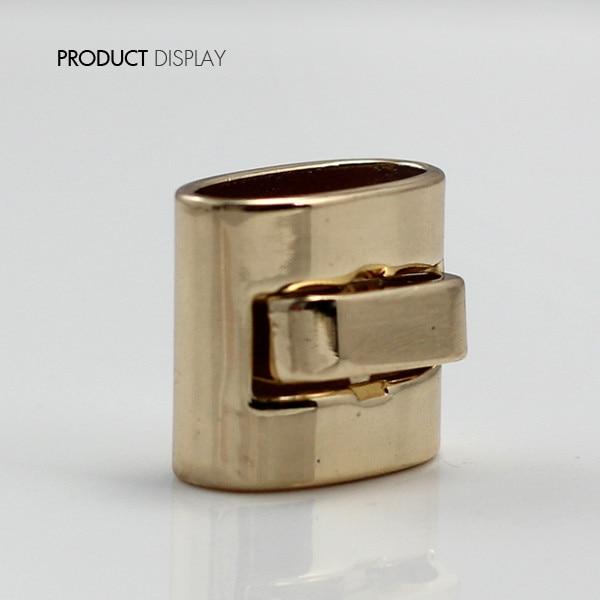 Paquete de 10 Uds. De clip de palanca NK143 de tono dorado