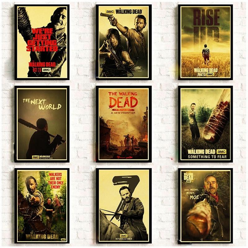 serie-tv-americana-the-walking-dead-retro-poster-di-buona-qualita-della-parete-di-poster-e-stampe-casa-camera-art-painitng-autoadesivo-della-parete