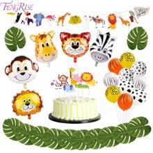 FENGRISE-Ballons animaux pour fête danniversaire   Ballons pour thème Jungle, fête thème Safari, ballon décoratif de fête danniversaire pour enfant