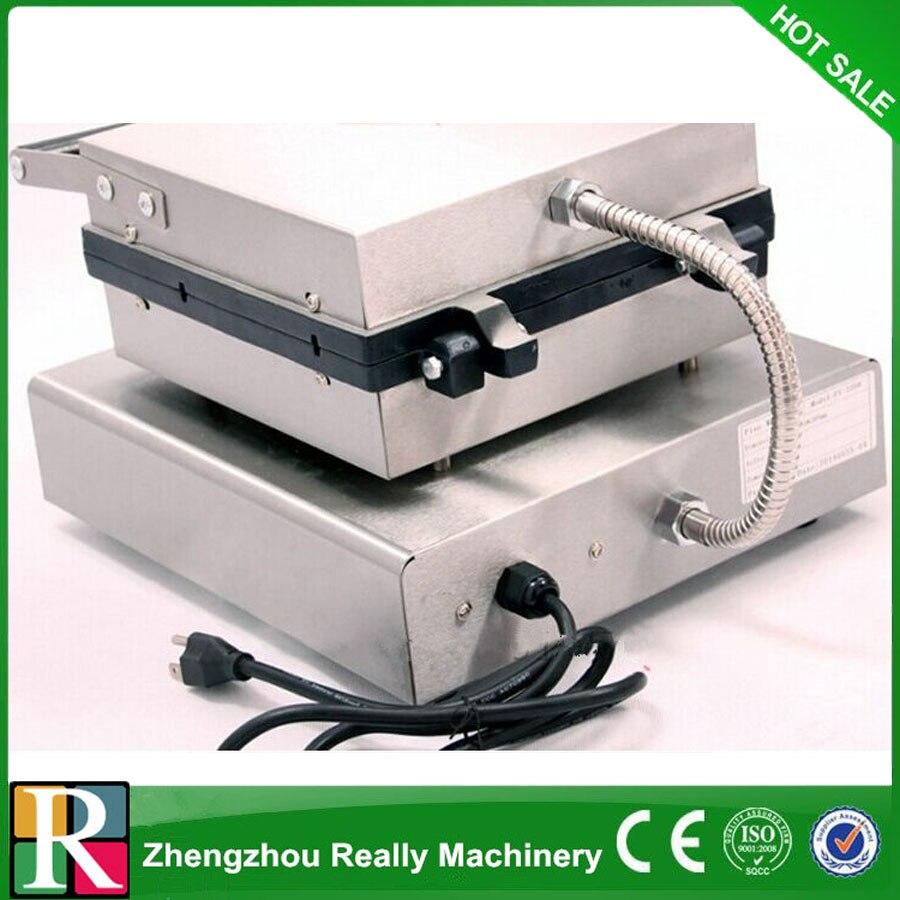 Tostadora de gofres, máquina de gofres eléctrica, máquina de gofres de pino
