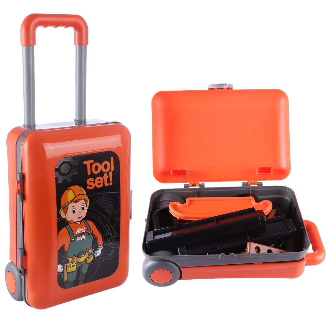 Conjunto de herramientas para niños, herramientas de simulación de ingeniero, caja de herramientas para niños, regalo para niños, herramientas para niños, juguetes de reparación de simulación para niños