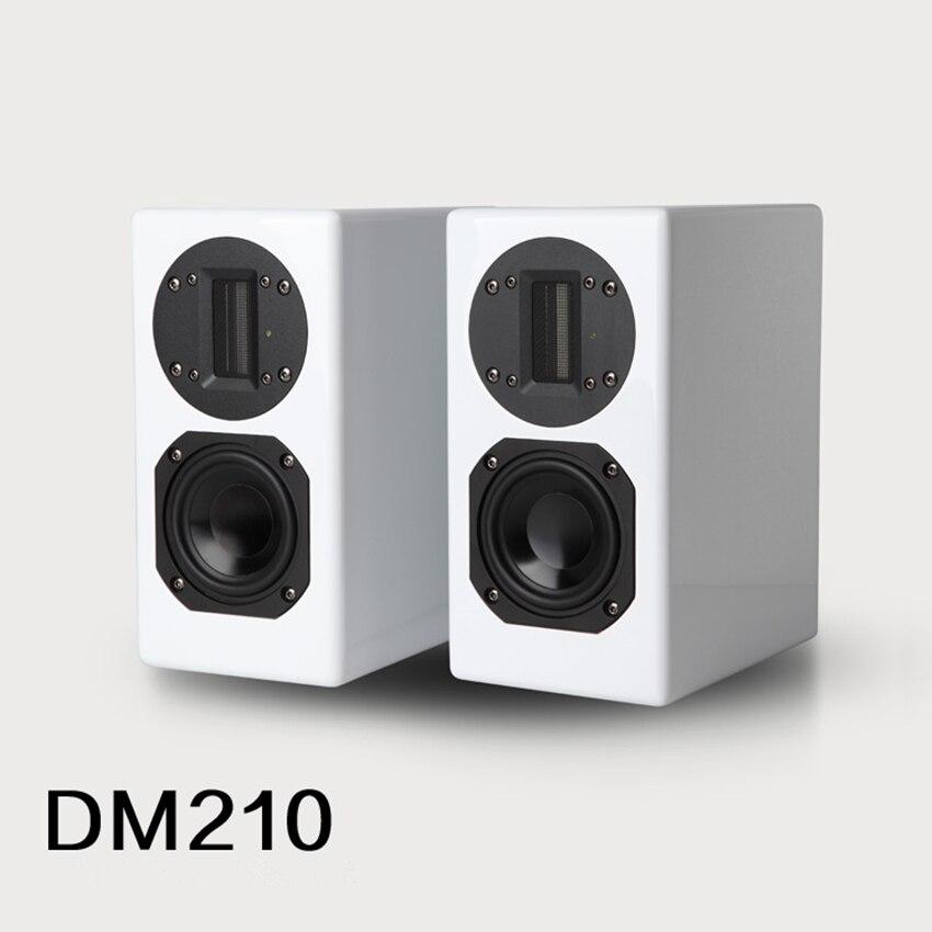 Altavoz activo para estantería WANBO audio DM210 DSP de aluminio de 4 pulgadas/altavoz para ordenador estable DSP