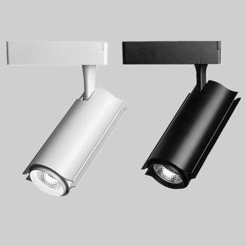 Бесплатная доставка, розничная продажа, 30 Вт COB светодиодный светильник для следа, точечный настенный светильник, светодиодный AC85-265V свет, ...