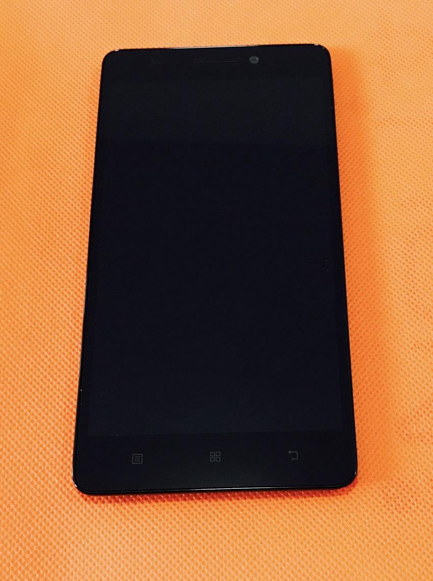 """LCD Display Screen + Touch Screen + Rahmen für Lenovo K3 Hinweis K50-t3s MTK6752 Octa Core 5,5 """"FHD Freies verschiffen"""