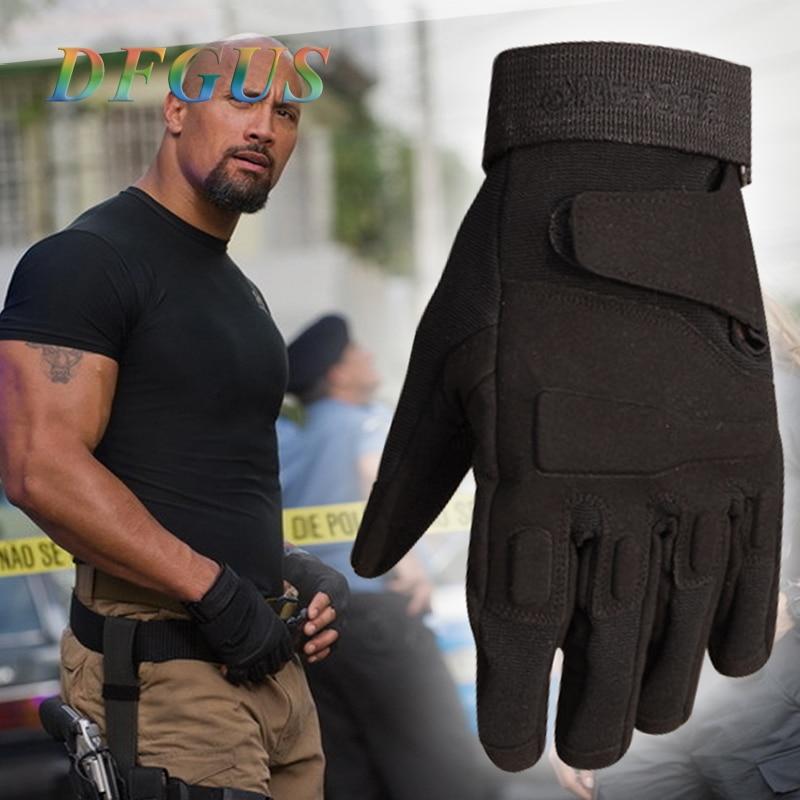 перчатки мужские тактические перчатки Армия боевых тренировок Тактические перчатки Мужчины Военная полиция Пейнтбол Открытые перчатки По...